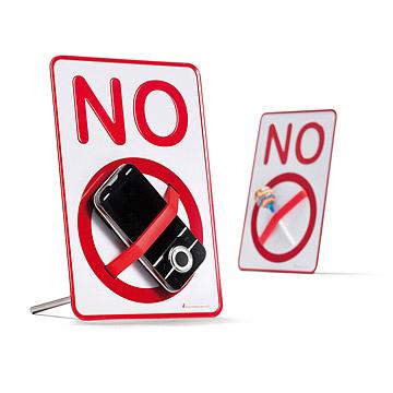 No ________ Sign