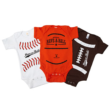 Have-a-Ball Babysuits