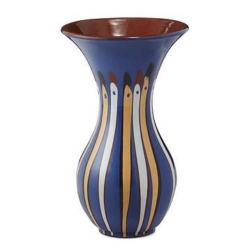 Raindrop Striped Vase