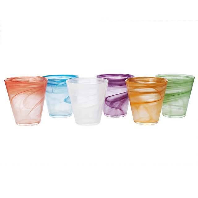 Tabula Glasses - Set of 6
