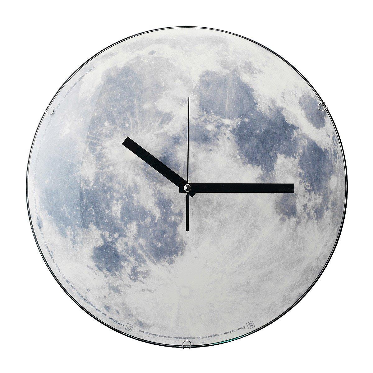 Moon Clock | Glowing Lunar Clock