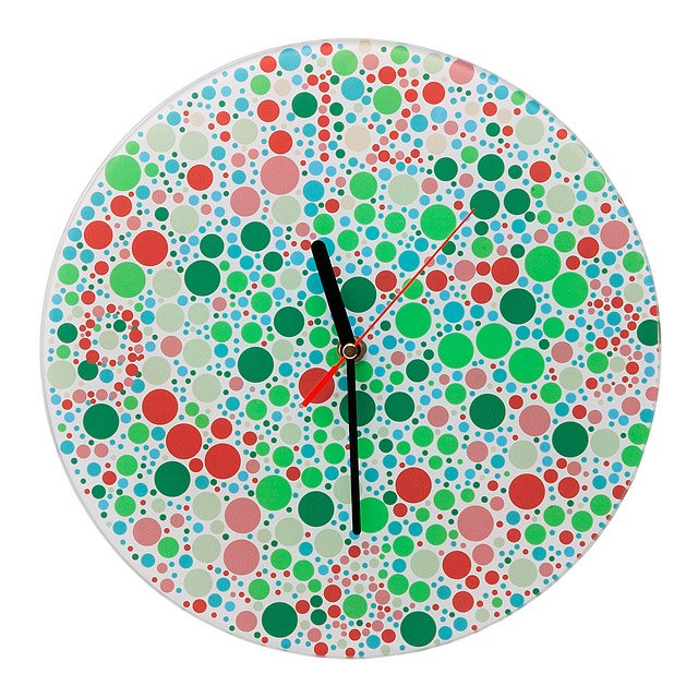 Color Blind Clock