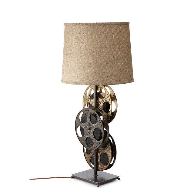 Film Reel Lamp