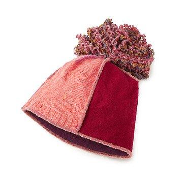 Upcycled Pom Hat