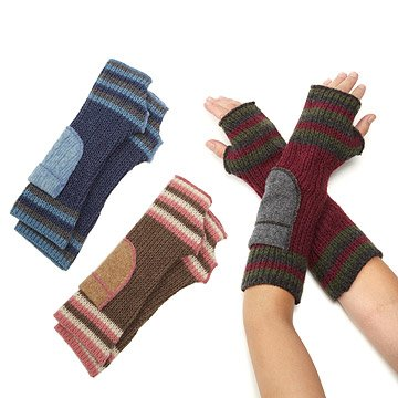 Recycled Knit Arm Warmers