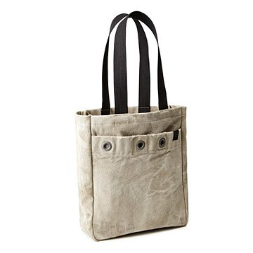 Upcycled USPS Mail Sack Tote