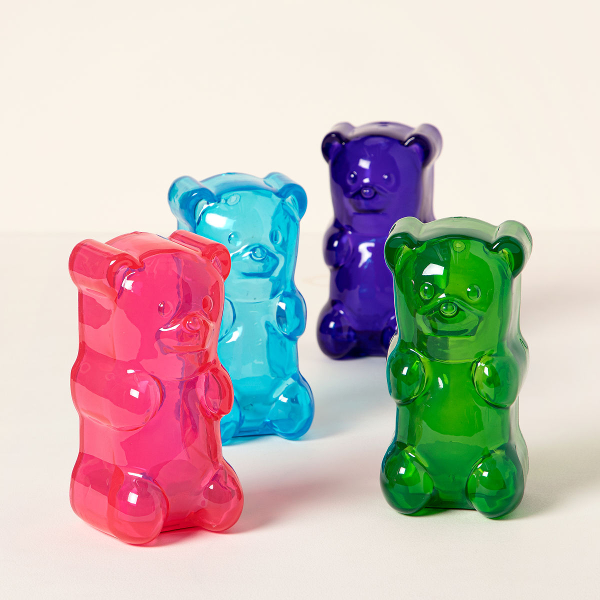 gummy bear lights gummi bear lamp nightlight uncommongoods. Black Bedroom Furniture Sets. Home Design Ideas