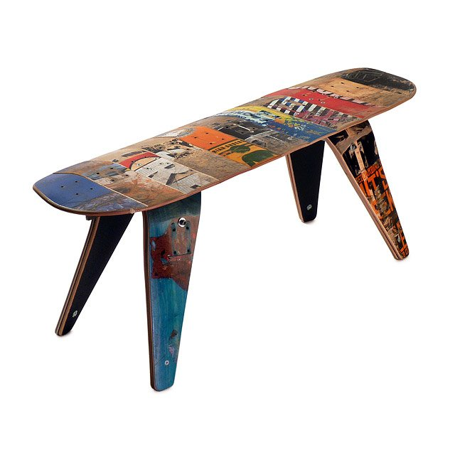 Skateboard Bench - Short 2