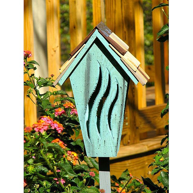 Wooden Butterfly House 3