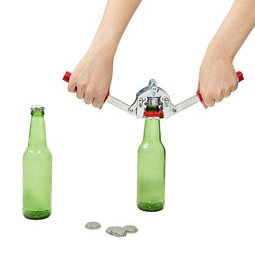 Beer Bottle Capper with Caps