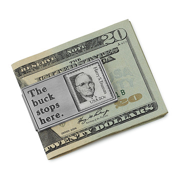 The Buck Stops Here Money Clip