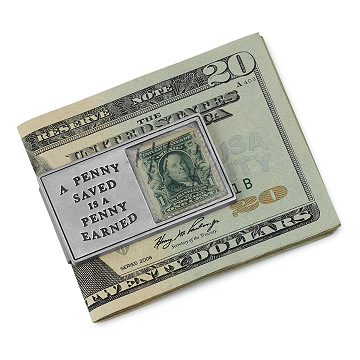A Penny Saved Money Clip