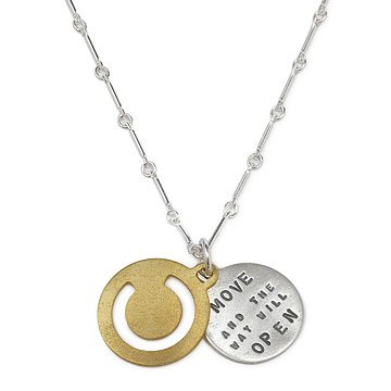 Move And The Way Will Open Zen Necklace