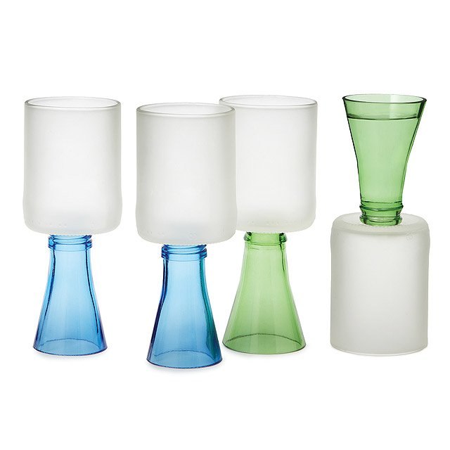 Flipit! Wine-Shot Glasses