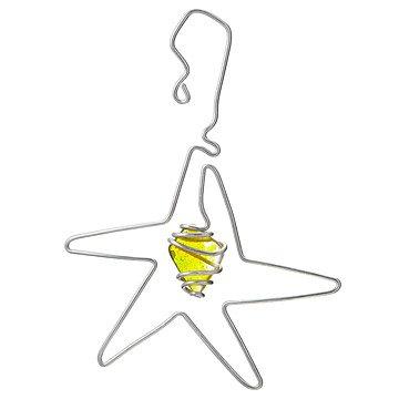 Twisted Aluminum Star Ornament