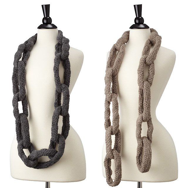 Chain Link Scarf