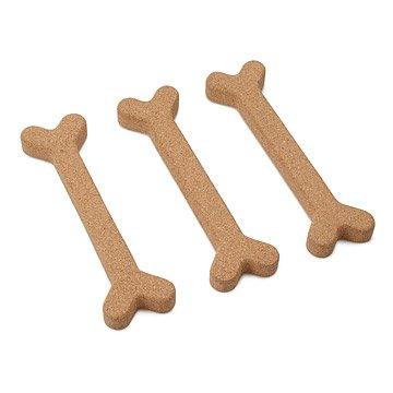 Bone Appetit Cork Trivets -Set of 3