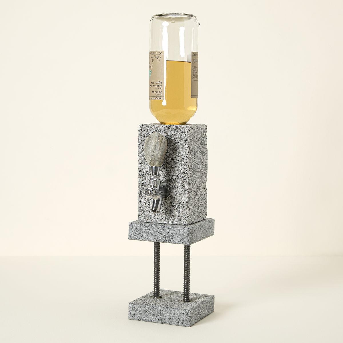Stone Drink Dispenser Liquor Dispenser Shots On Tap