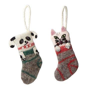 Dog and Cat Mini-Stockings