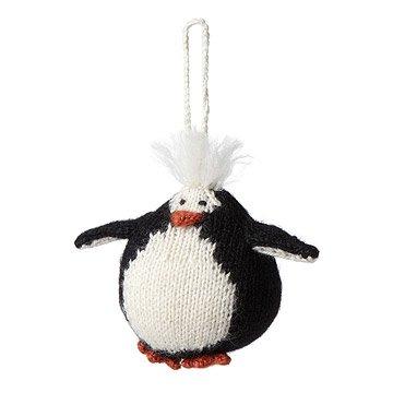 Penguin Knit Ornament