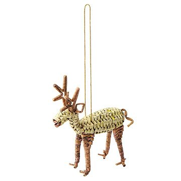 Brown Reindeer Ornament