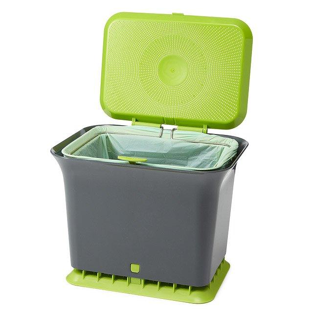 Countertop Compost Bin : Compost Container, Odor-Free Kitchen Compost Collect, Compost Bin ...