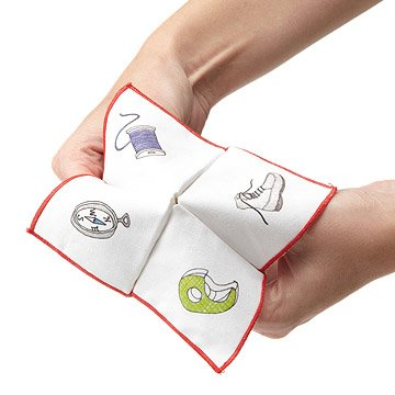 Fortune Teller Napkins - Set of 2