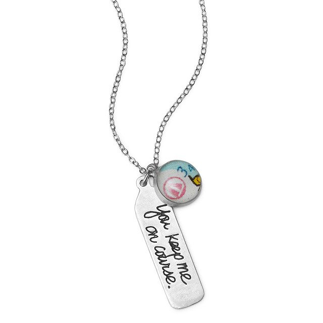 You Keep Me On Course Necklace