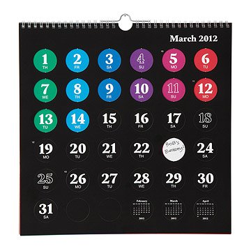 Pop the Dots Calendar