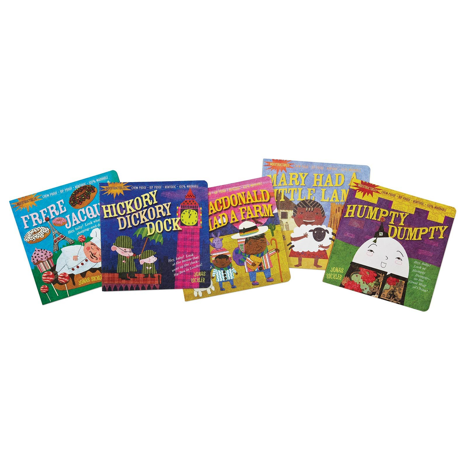 Indestructible Nursery Rhyme Book Set 1 Thumbnail