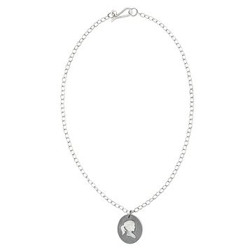 Personalized Silhouette Necklace