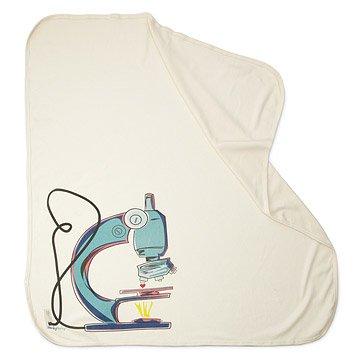 Organic Microscope Swaddling Blanket