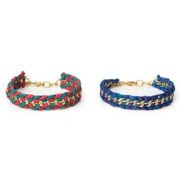 Upcycled Sari Bracelet