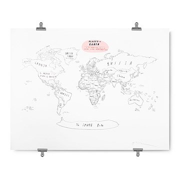 Places on Earth - Oliver Jeffers