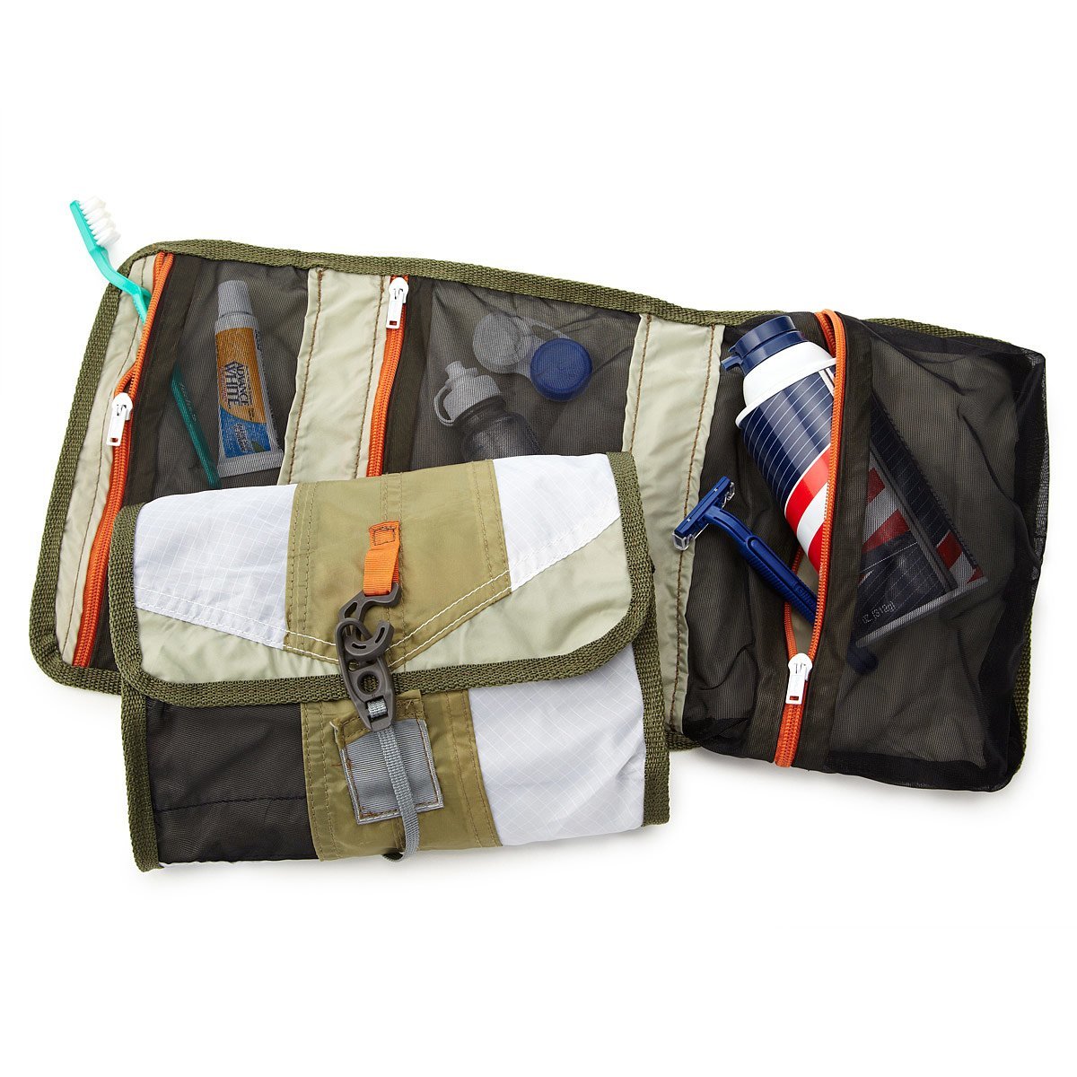 upcycled tent dopp kit | mens toiletry bag | uncommongoods