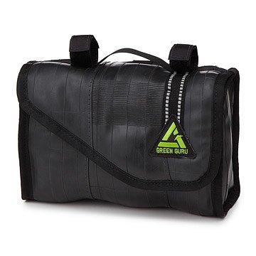 Upcycled Bike Tube Handlebar Bag
