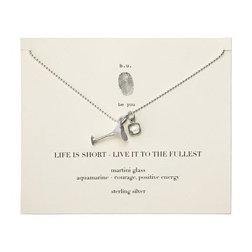 Live Life to the Fullest Necklace