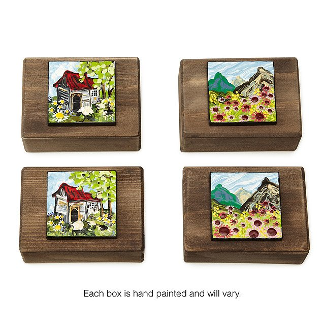 Hand-Painted Keepsake Boxes 2