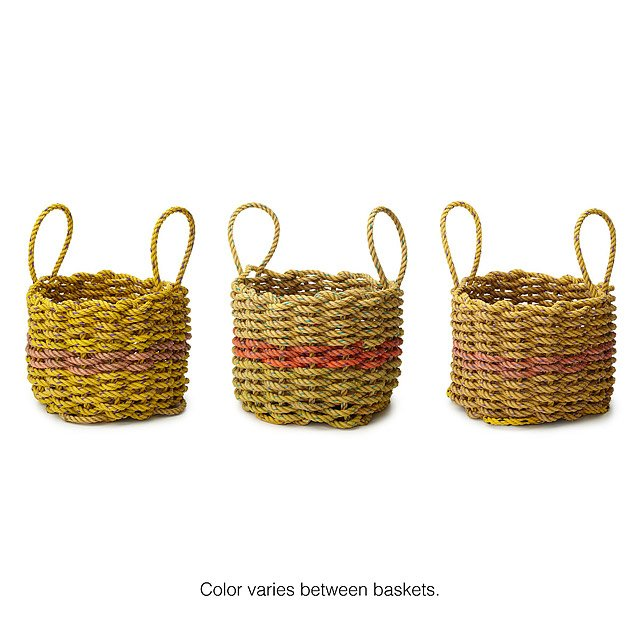 Lobster Rope Basket 2