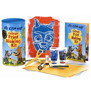 Collage Printmaking Kit