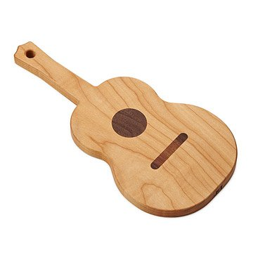 Guitar Serving Board