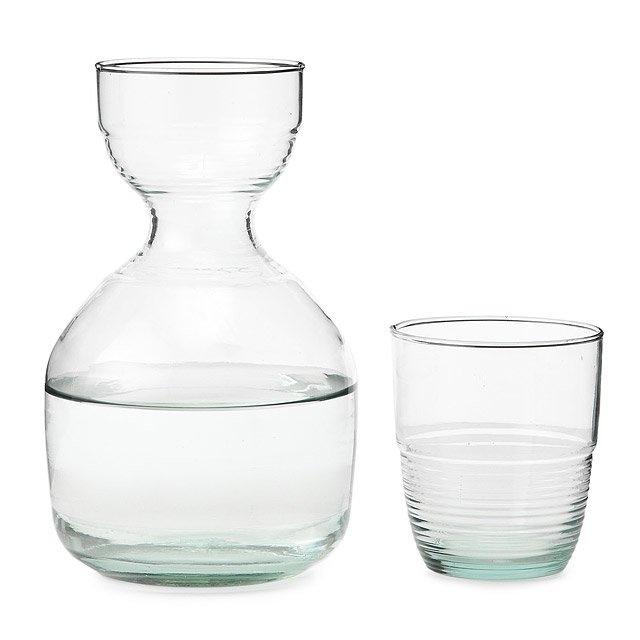 Recycled Carafe and Glass 2