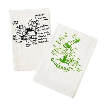 Geek Tea Towels - Set of 2