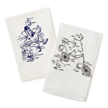 Travel Tea Towels - Set of 2