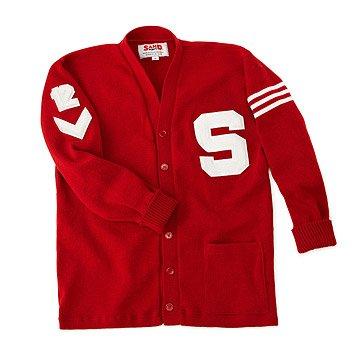 Customized Letterman Sweater