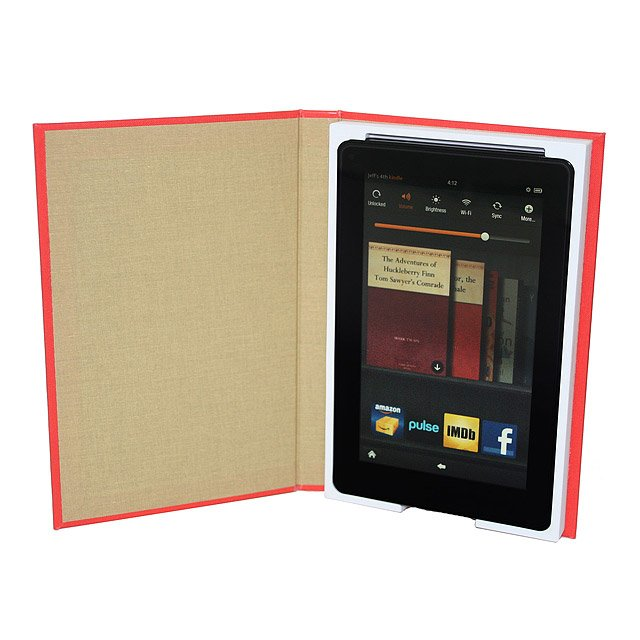 Literary Art Kindle Fire Case 3