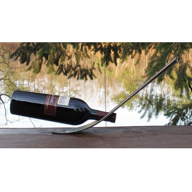 Floating Ski Wine Bottle Rack 2