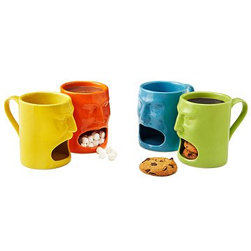 Warm or Cool Face Mugs - Set of 2
