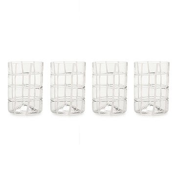 Twiddle Glasses - Set of 4
