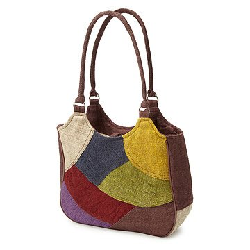 Hemp Patchwork Handbag